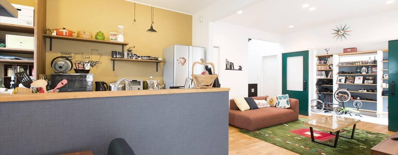 Projekty,  Kuchnia zaprojektowane przez ジャストの家