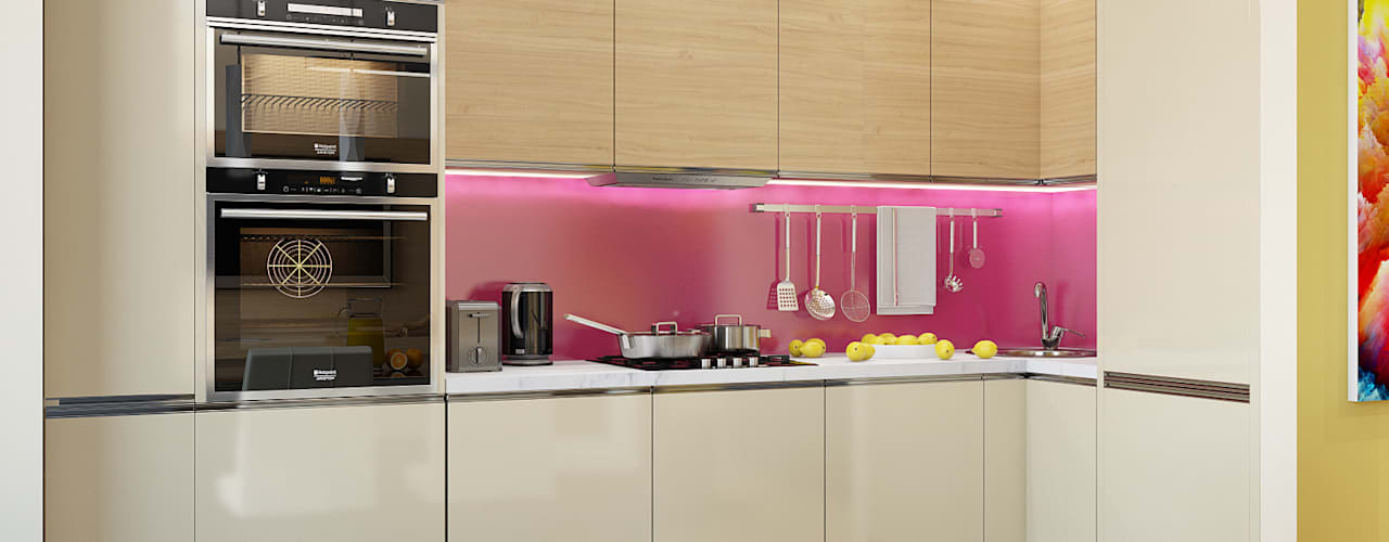 Küche von Tatiana Zaitseva Design Studio, Minimalistisch