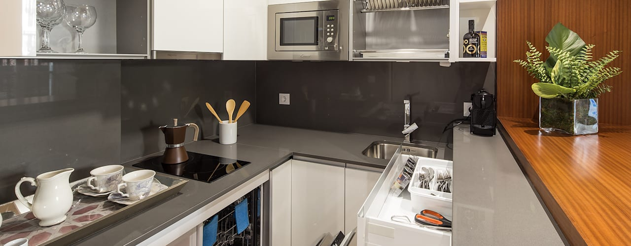 Кухни в . Автор – Ardes Arquitectos