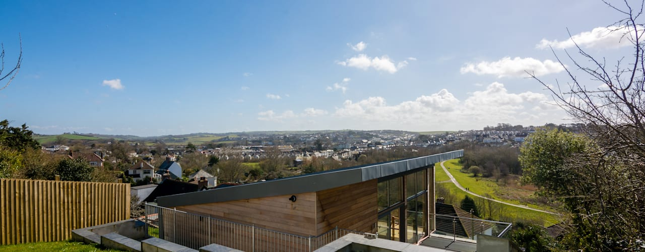 Mallards View, Devon, UK Casas estilo moderno: ideas, arquitectura e imágenes de Trewin Design Architects Moderno