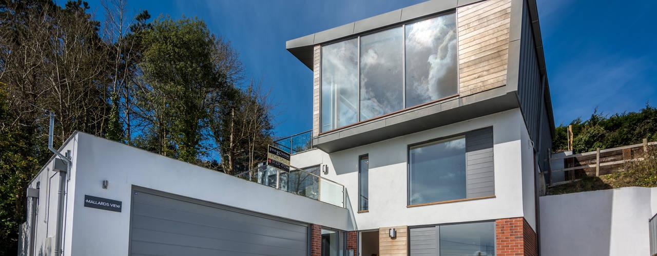 Mallards View, Devon, UK Modern houses by Trewin Design Architects Modern