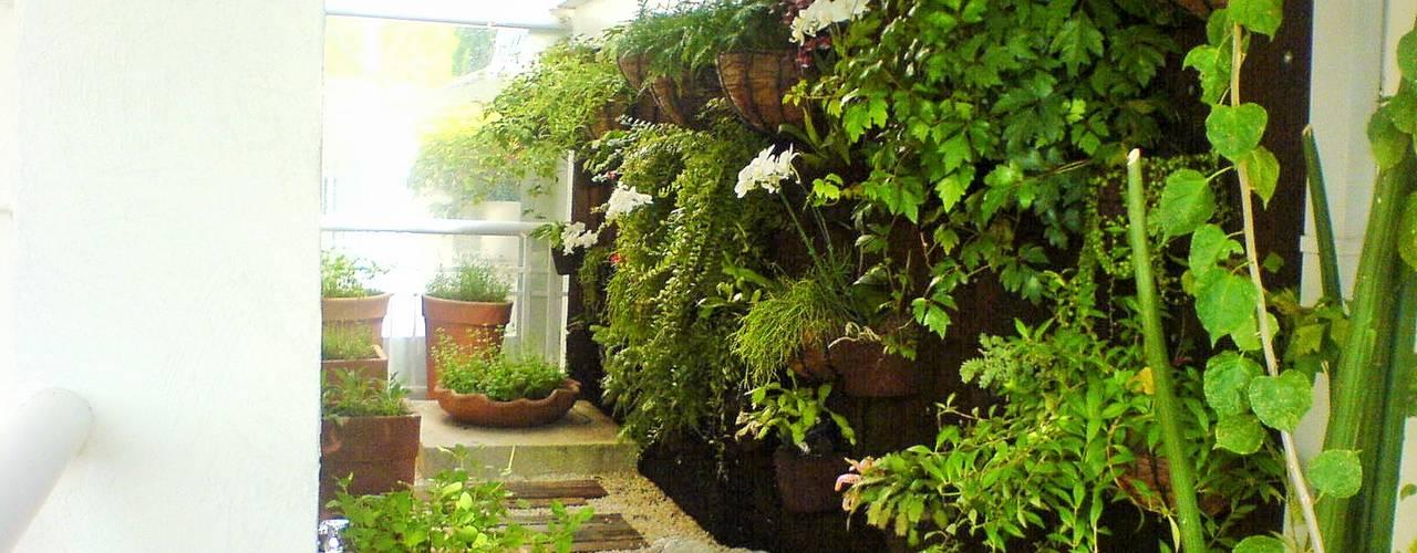 Jardines de invierno de estilo moderno de Luciani e Associados Arquitetura Moderno