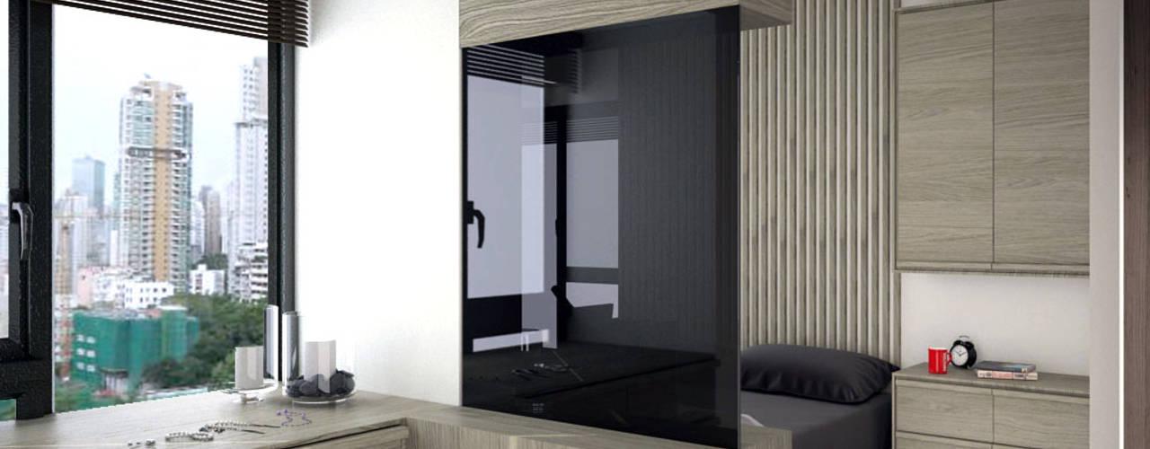 The Long Beach | Hong Kong: modern Bedroom by Nelson W Design