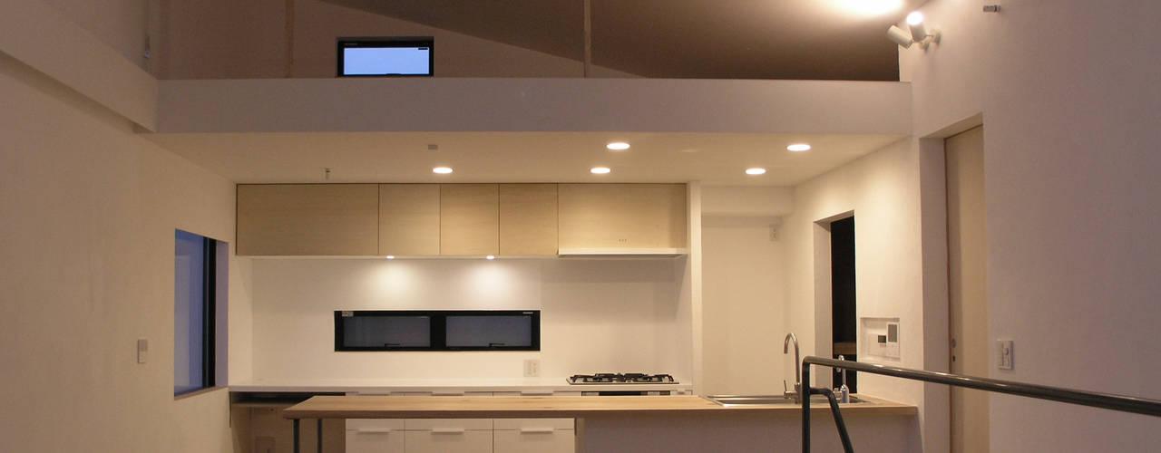 三鷹の家 モダンな キッチン の 荘司建築設計室 モダン