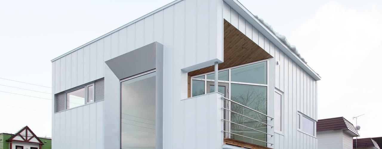 外観: 一級建築士事務所 Atelier Casaが手掛けた家です。