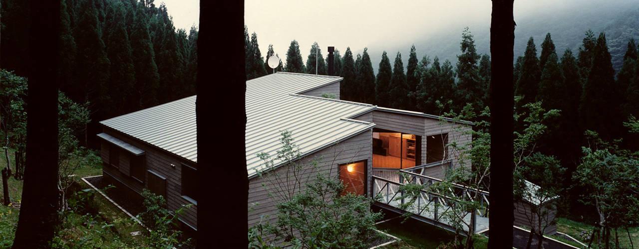 市木の山荘 オリジナルな 家 の 竹内建築設計事務所 オリジナル