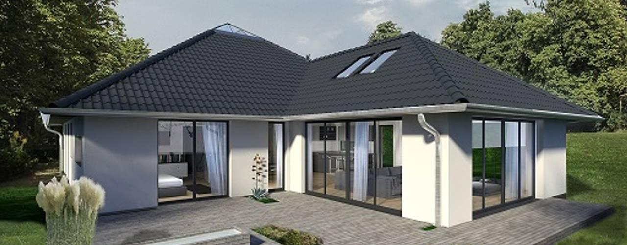 Дома в стиле модерн от K-MÄLEON Haus GmbH Модерн