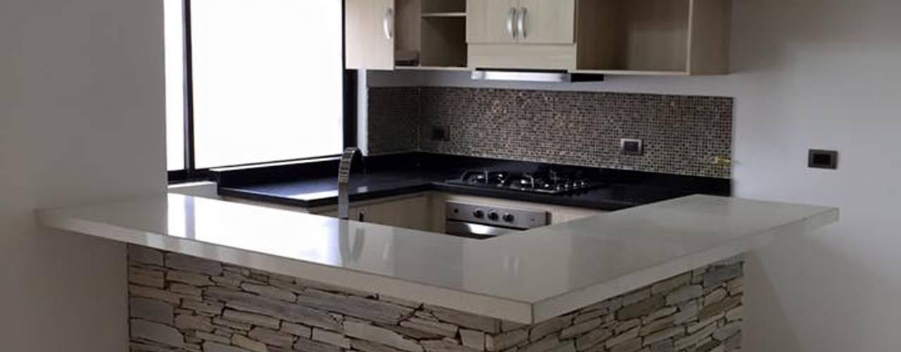 Cocinas de estilo moderno de ALSE Taller de Arquitectura y Diseño Moderno