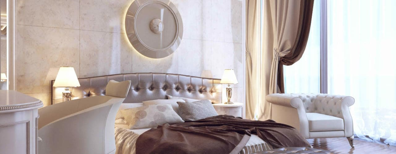 Dormitorios modernos de RayKonsept Moderno