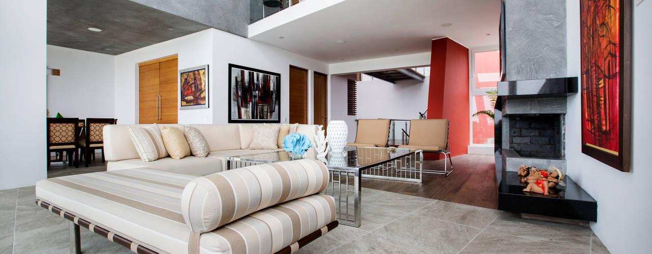 Projekty,  Salon zaprojektowane przez Carughi Studio