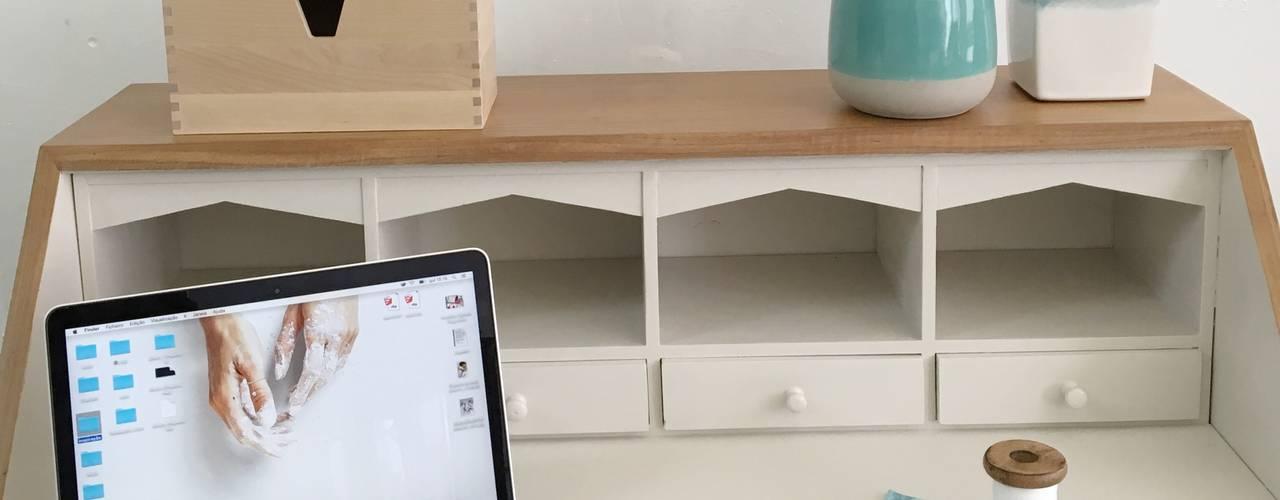 Restauro e Reciclagem de Mobiliário :   por Rafaela Fraga Brás Design de Interiores & Homestyling