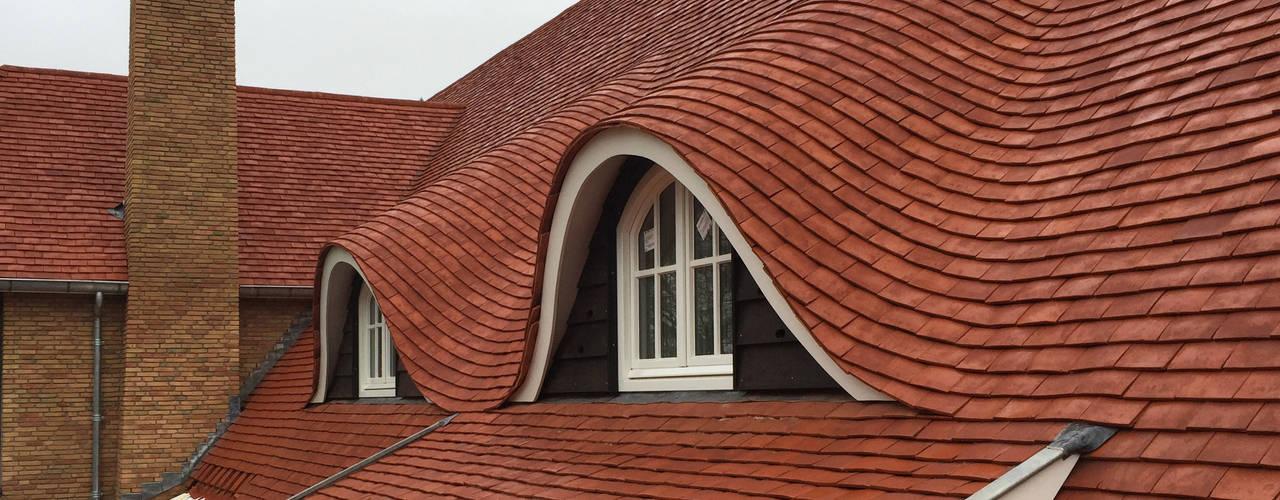 Villa Veluwe:   door Woon Architecten