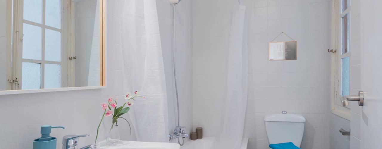 สแกนดิเนเวียน  โดย jaione elizalde estilismo inmobiliario - home staging, สแกนดิเนเวียน