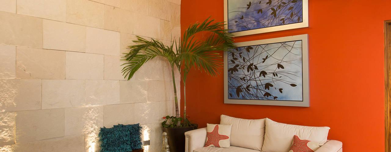 Salas de estar modernas por Grupo Arsciniest Moderno