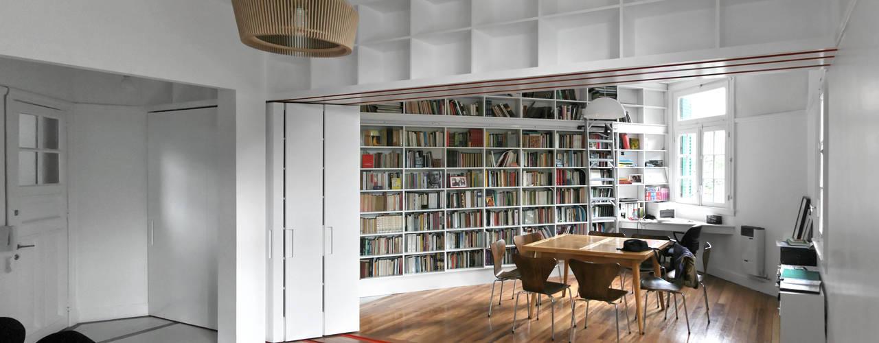 ミニマルデザインの 書斎 の Pop Arq ミニマル