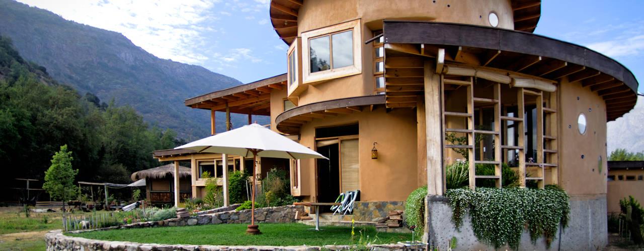 de ALIWEN arquitectura & construcción sustentable - Santiago Rústico