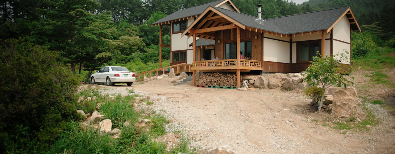 층층나무집 (Geochang house) โดย 위빌 โมเดิร์น