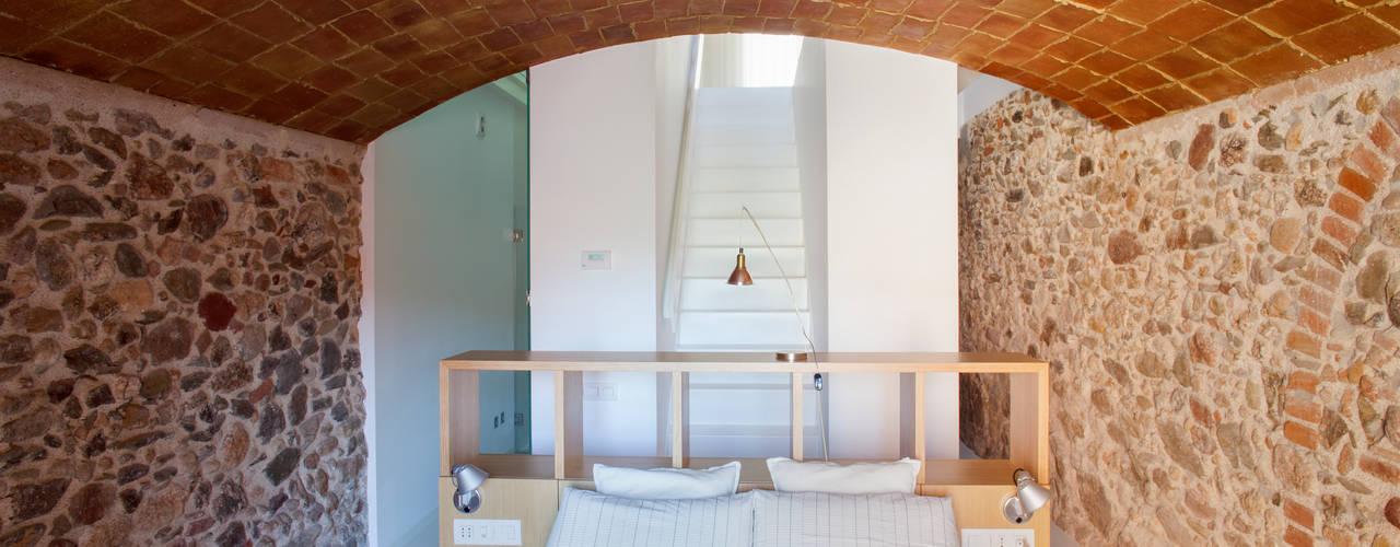 غرفة نوم تنفيذ CABRÉ I DÍAZ ARQUITECTES