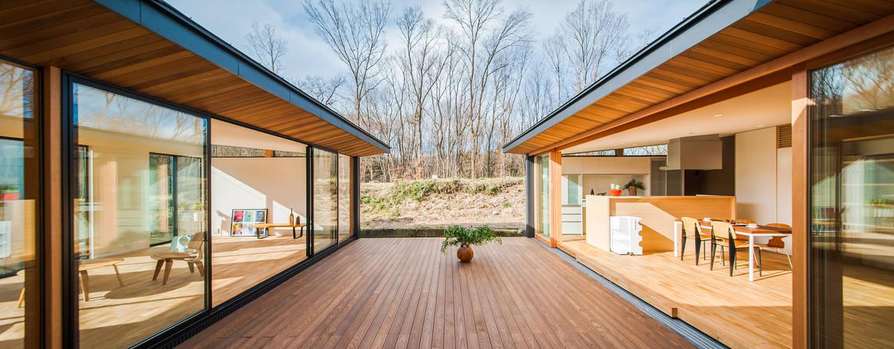 森と暮らす家 モダンな庭 の STaD(株式会社鈴木貴博建築設計事務所) モダン