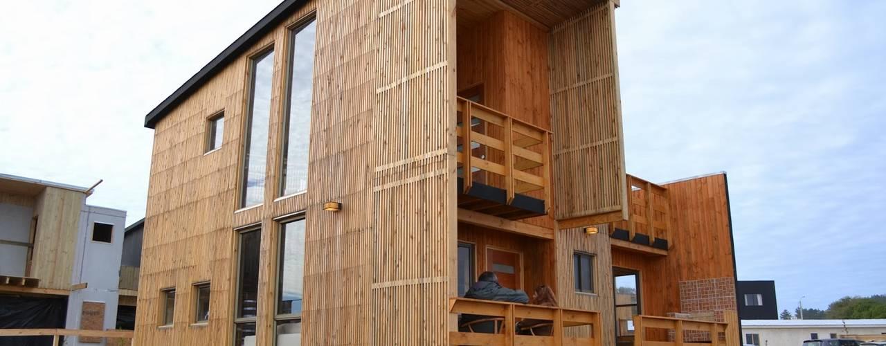 Cabañas Loft San Antonio Casas estilo moderno: ideas, arquitectura e imágenes de EstradaMassera Arquitectura Moderno