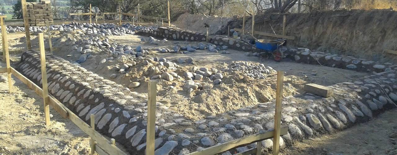 Construcción de Casa Vicuña en Mallaruco por ALIWEN de ALIWEN arquitectura & construcción sustentable - Santiago Rural
