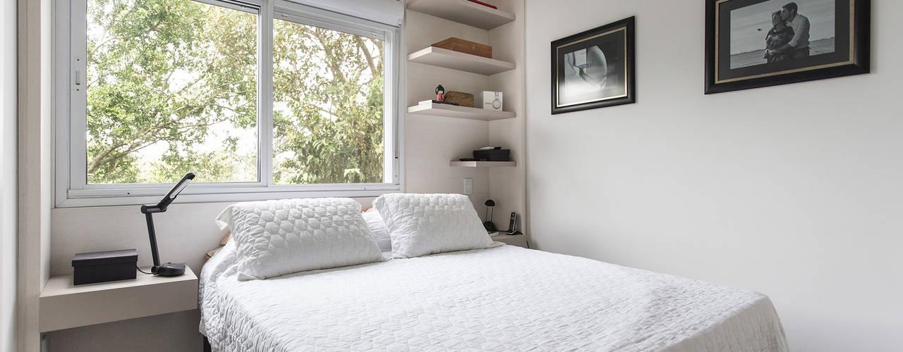 ห้องนอน โดย Kali Arquitetura, โมเดิร์น