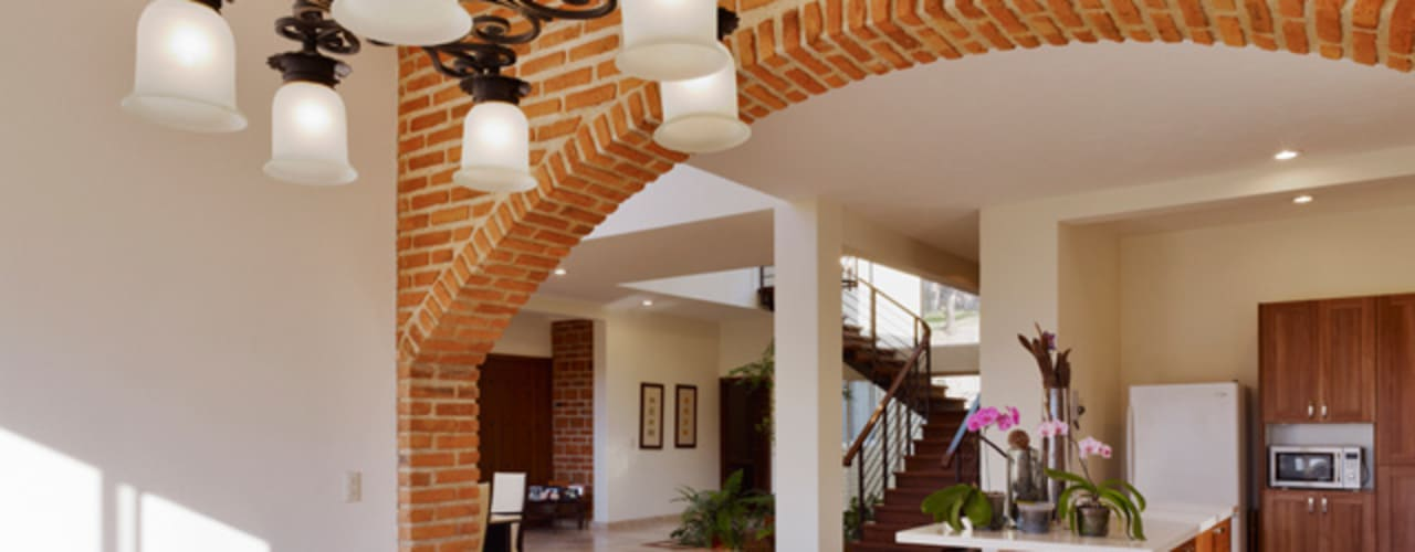 식민지스타일 주방 by Excelencia en Diseño 콜로니얼 (Colonial)