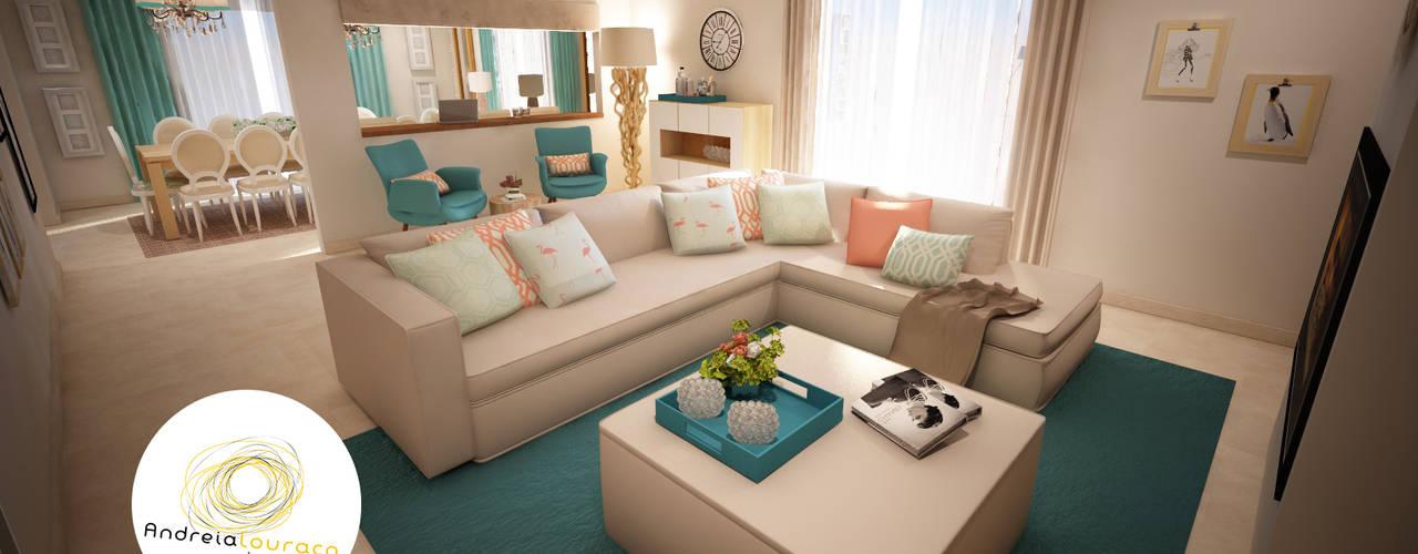 Andreia Louraço - Designer de Interiores (Email: andreialouraco@gmail.com) Living room Turquoise