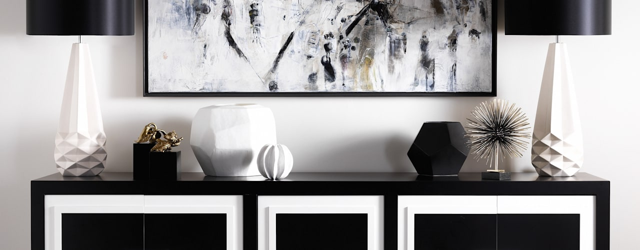 SS16 Style Guide - Refined Monochrome Collection LuxDeco SalonPlacards & Buffet Noir