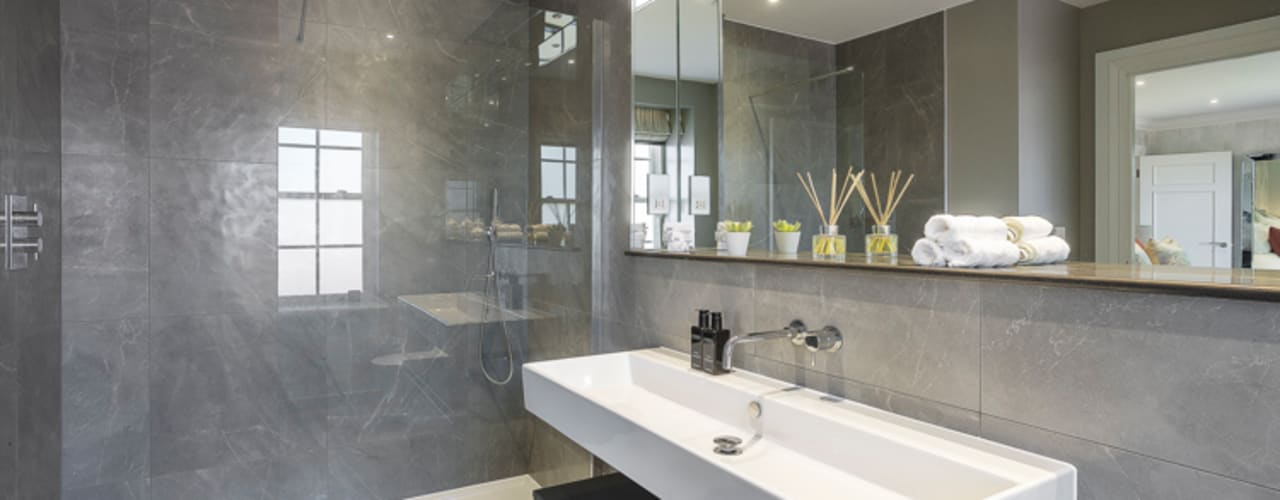 Winchester detatched Moderne Badezimmer von Studio Hooton Modern