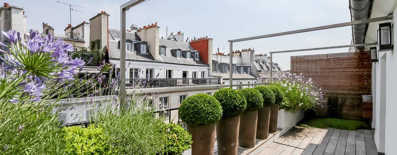 by Terrasses des Oliviers - Paysagiste Paris Сучасний