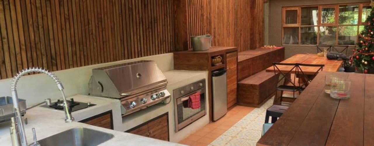 Projekty,  Kuchnia zaprojektowane przez OBRAA QUINCHOS Y TERRAZAS