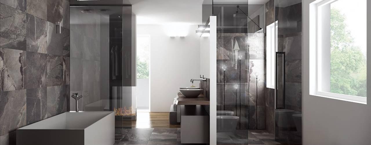 minimalistic Bathroom by Dario Cipelletti Architect