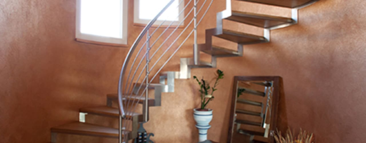Pasillos, vestíbulos y escaleras clásicas de Barra&Barra Srl Clásico