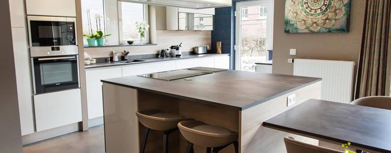 Les 7 plus belles cuisines modernes copier - Belles cuisines contemporaines ...