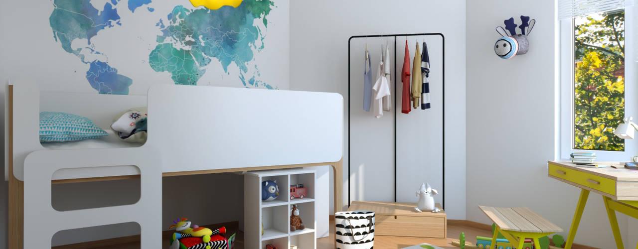Chambre d'enfant moderne par homify Moderne