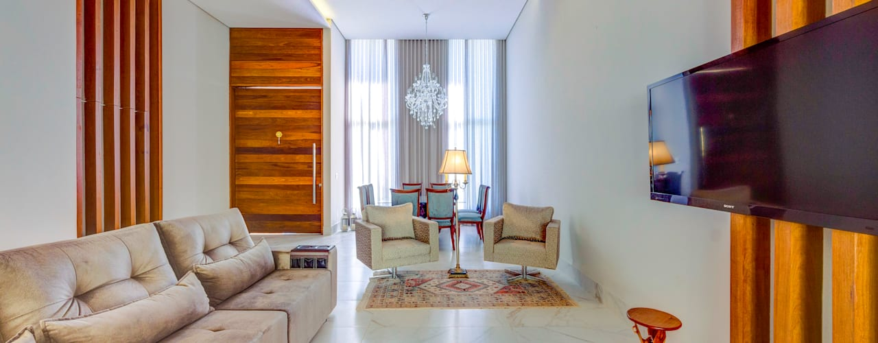Living room by Zani.arquitetura