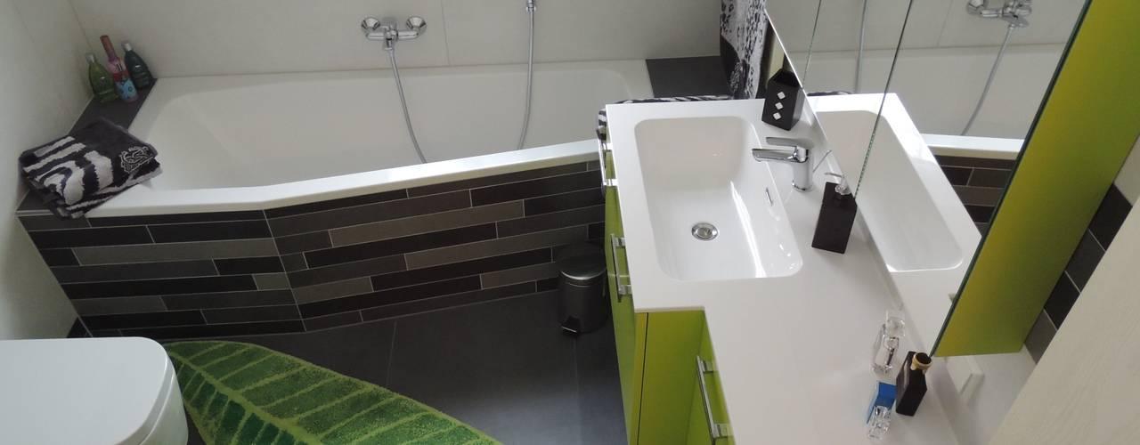 現代浴室設計點子、靈感&圖片 根據 Bad Campioni 現代風