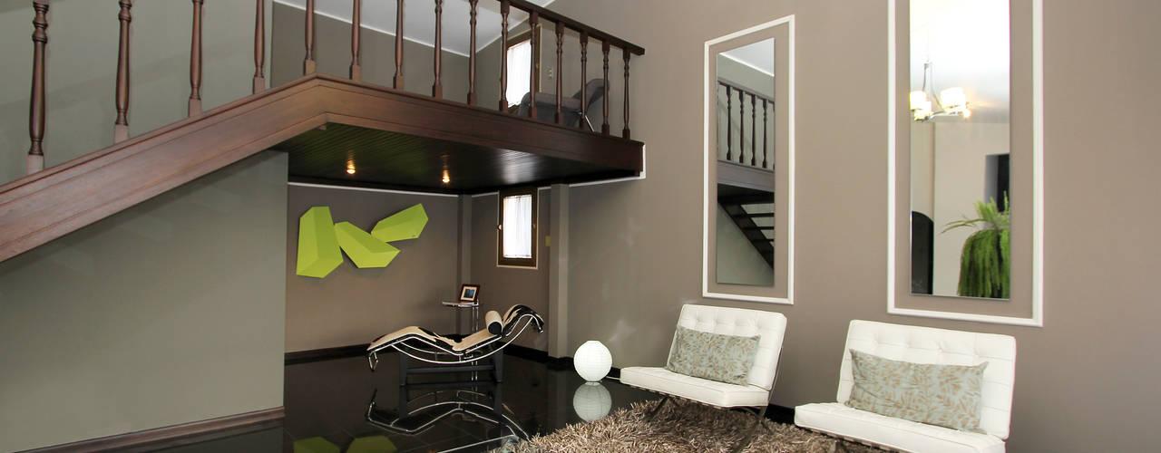 غرفة المعيشة تنفيذ Arq Renny Molina
