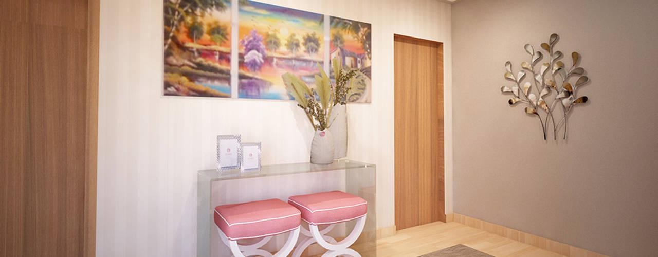 Koridor & Tangga Modern Oleh GRAÇA Decoração de Interiores Modern
