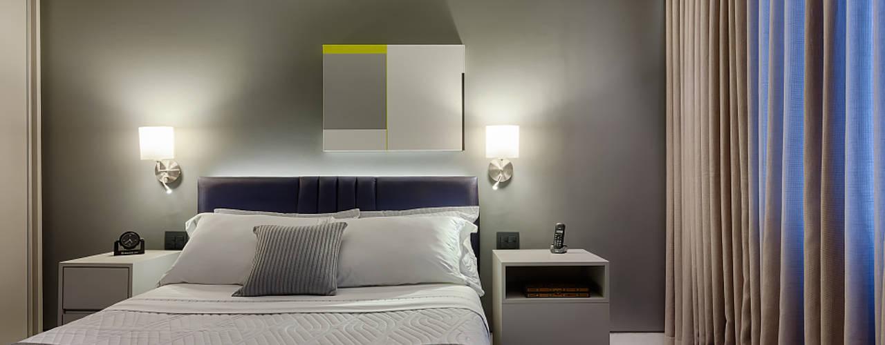 Quartos modernos por Emmanuelle Eduardo Arquitetura e Interiores Moderno