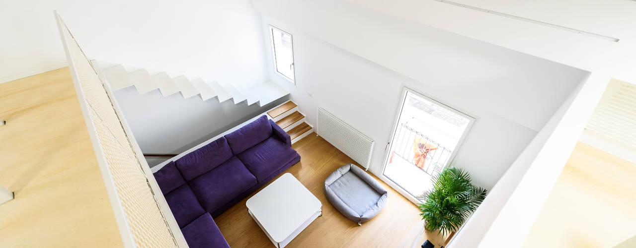غرفة المعيشة تنفيذ Aina Deyà _ architecture & design