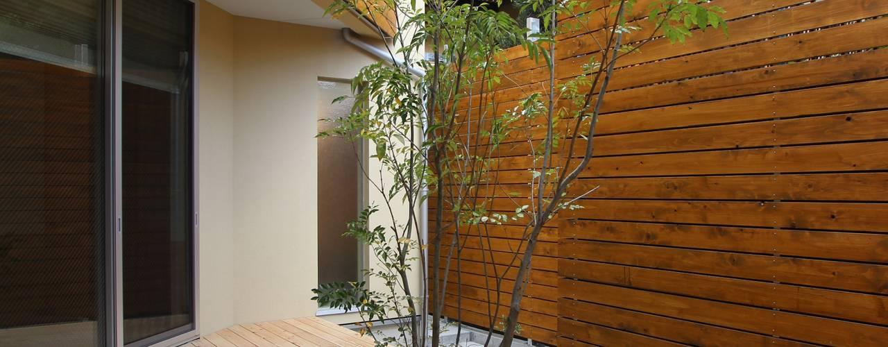 Vườn phong cách hiện đại bởi ATS造家設計事務所 Hiện đại