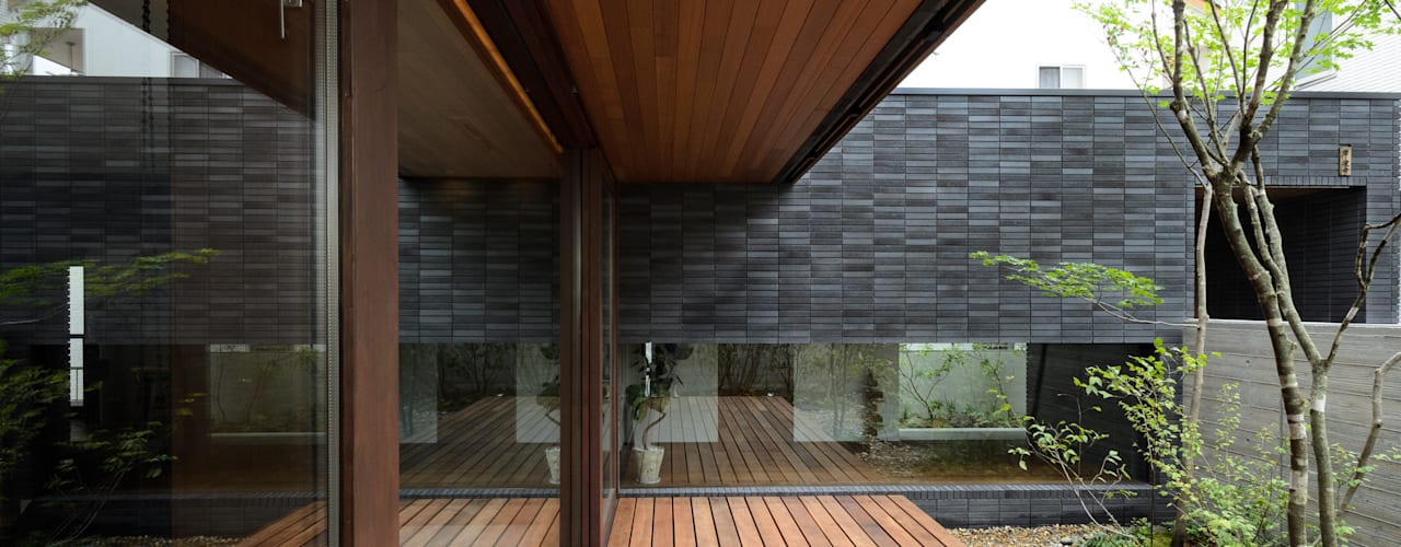 Okayama K.K_House モダンな庭 の バウムスタイルアーキテクト一級建築士事務所 モダン