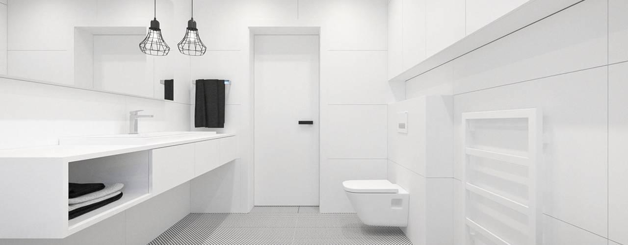 Ванная комната в стиле минимализм от MIRAI STUDIO Минимализм