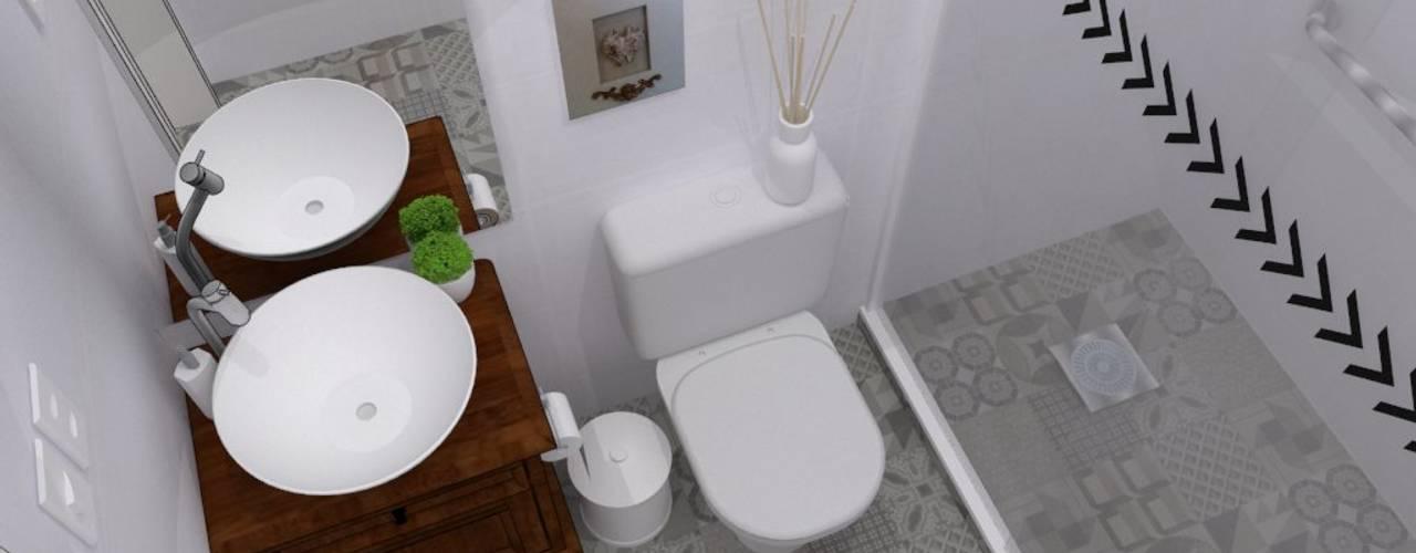 Banheiros coloniais por homify