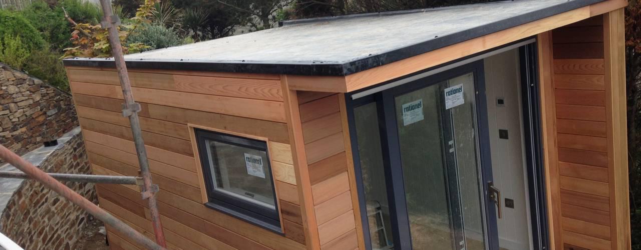 Garden Box - Porthtowan:  Houses by Building With Frames