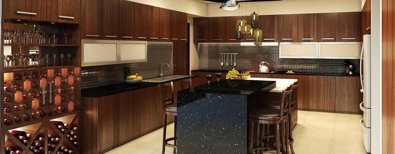 Modern Kitchen by Interiorisarte Modern