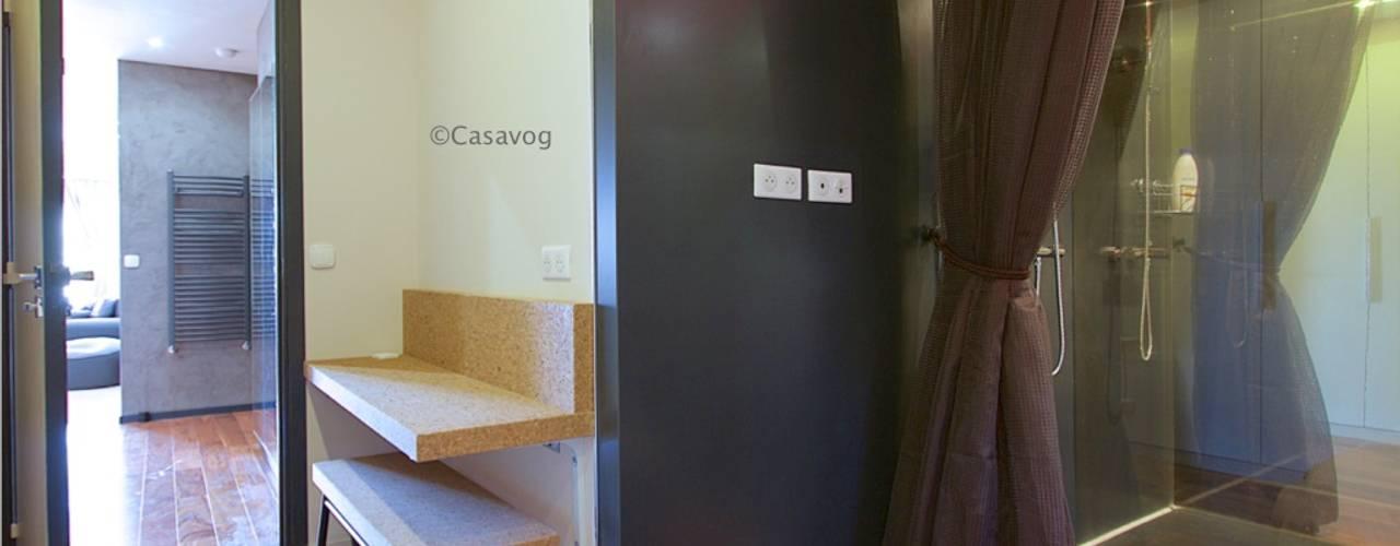 Nowoczesne domowe biuro i gabinet od Casavog Nowoczesny
