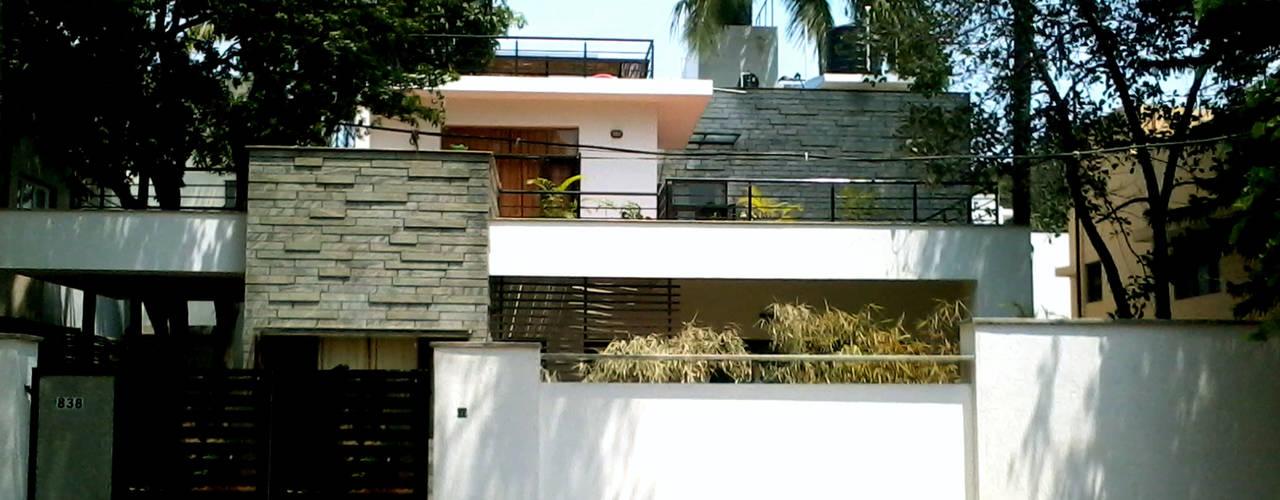 Casas de estilo  por de square